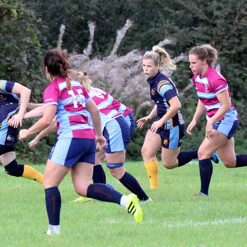 Teddington ladies xv  vs  Wimbledon 9/9/17