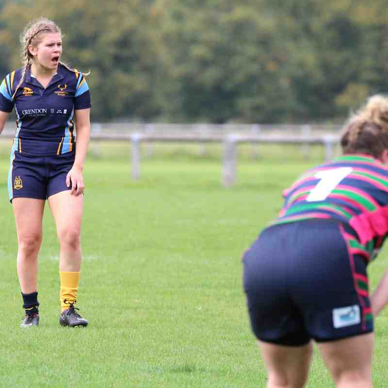 Teddington ladies xv  vs  Reading abbey ladies 23/9/17