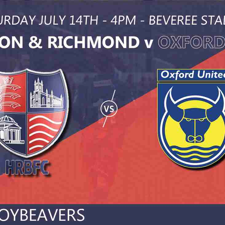 Beavers to take on Us in pre season