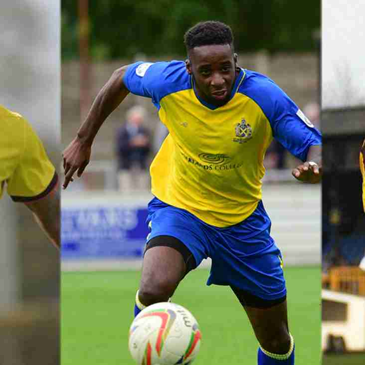 Attacking Trio Added Ahead of Season Opener at Slough Town