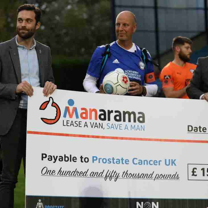 #MANarama National League Raises £150k For Prostate Cancer UK