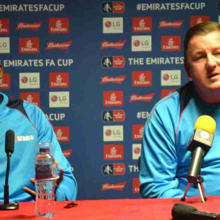"""Very proud"" Gary McCann Anticipates Massive Oldham Cup Tie"