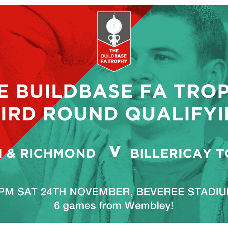 Beavers look to rock the Billericay boat in FA Trophy