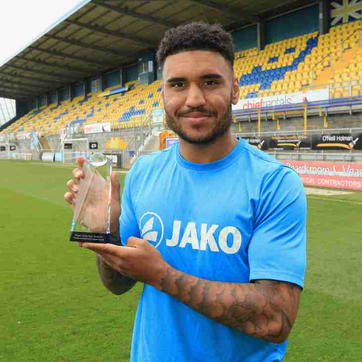 Torquay's Jamie Reid scoops player of the year prize