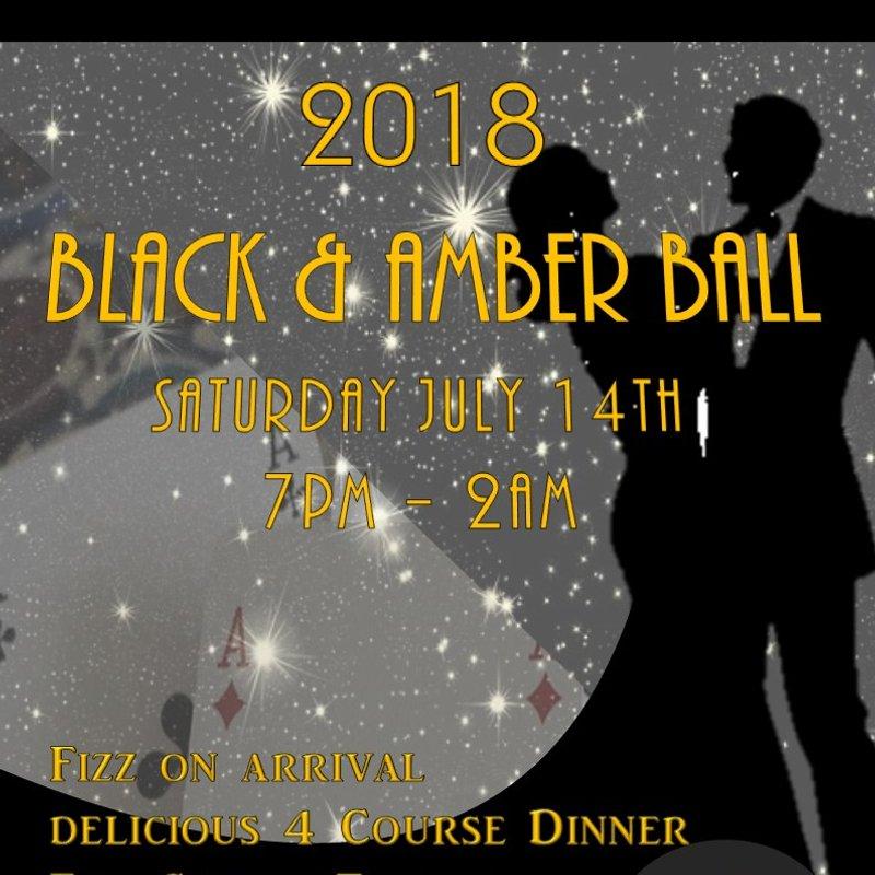 2018 Black and Amber Ball - Saturday 14 July