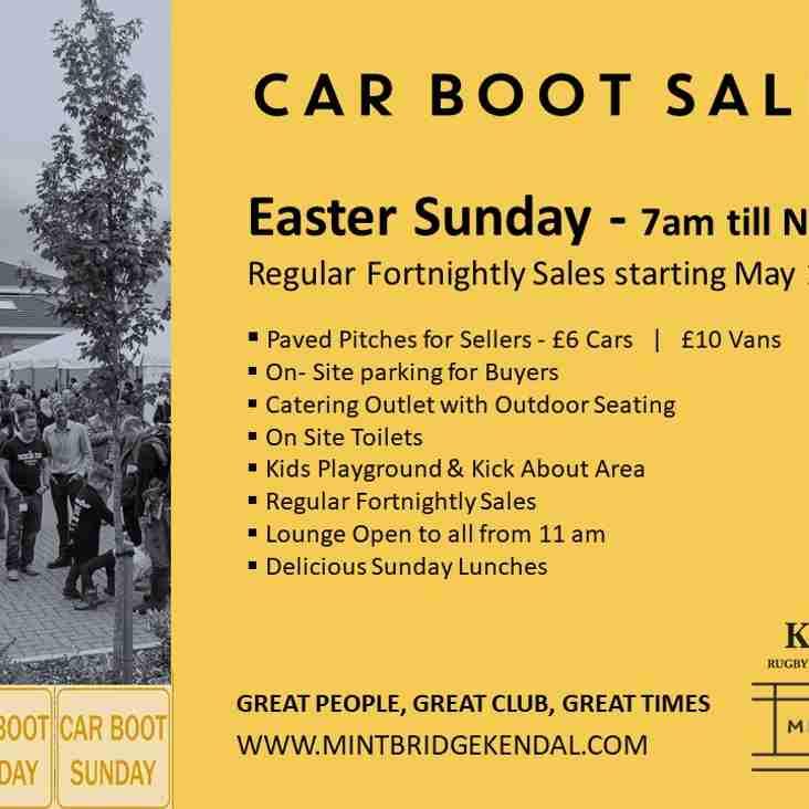 Easter Sunday  |  Car Boot Sale   |   Treasure Hunt   |   Carvery £10 !