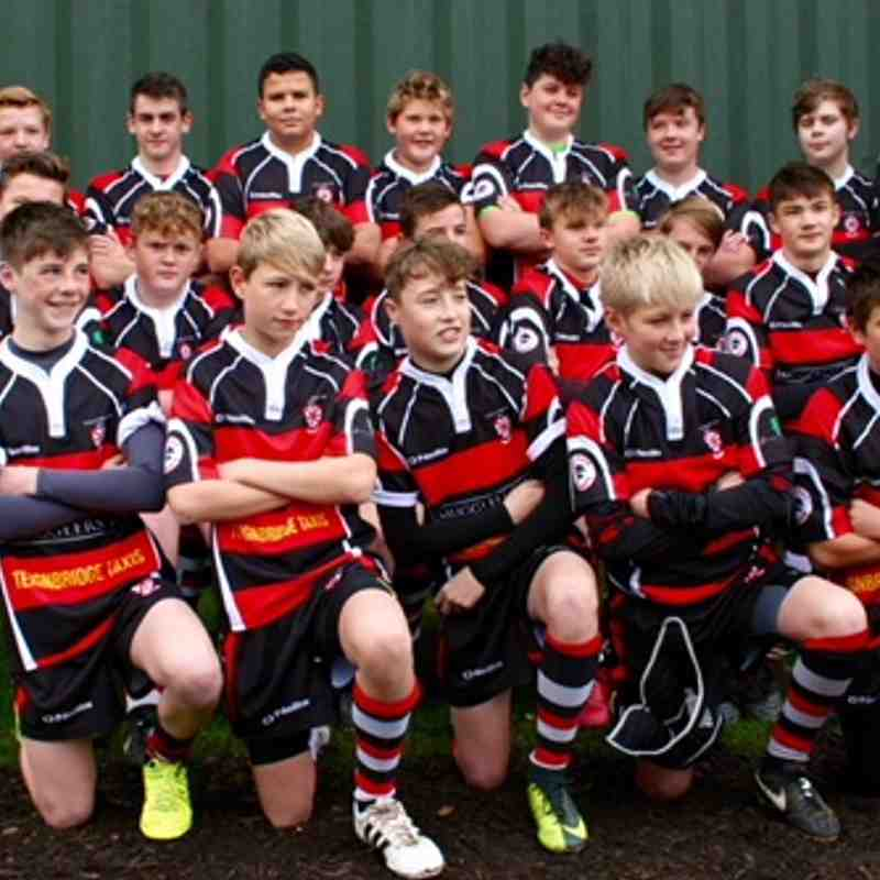 Teignmouth Under 14's Team Photo