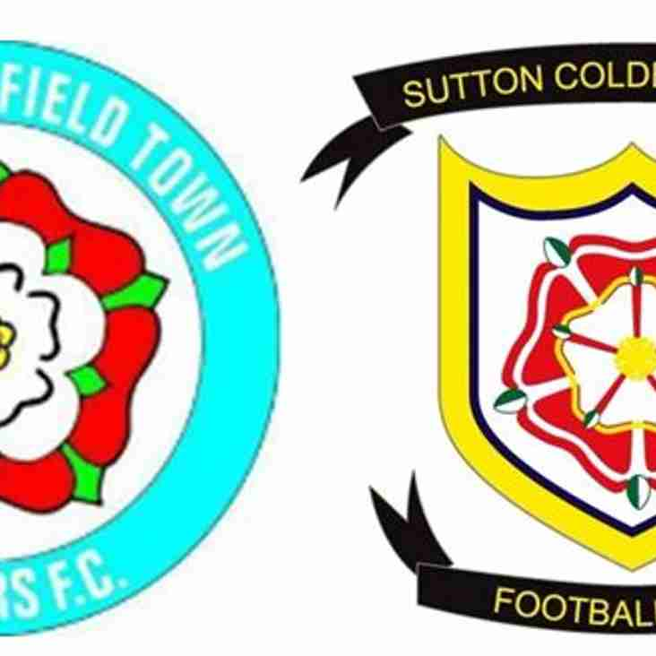 Sutton Coldfield Town Juniors Football Club and Sutton Coldfield Town Football Club working partnership continues to grow!