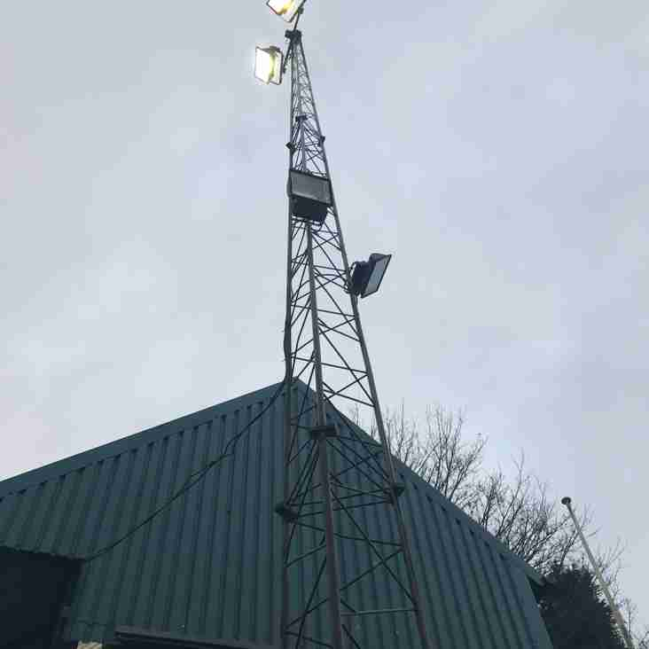 Crowdfunding for new Floodlights Project at Coles Lane!!!