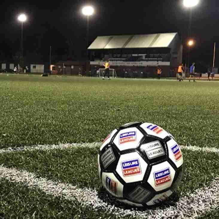Leisure League at Sutton Coldfield Town FC!!!