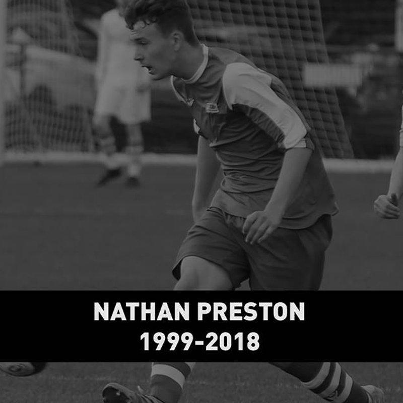 Funeral Arrangements for Nathan Preston