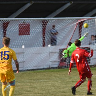 Saunders Brilliant Strike Earns Heath a Point at Whitstable