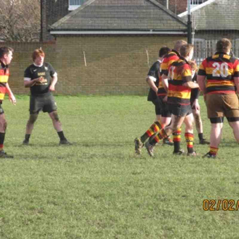 Deal & Betts 2nd XV v Ashford     02/Feb /13