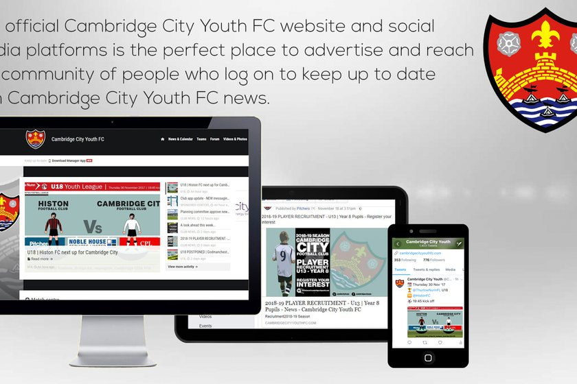 Sponsorship Opportunities with CCYFC