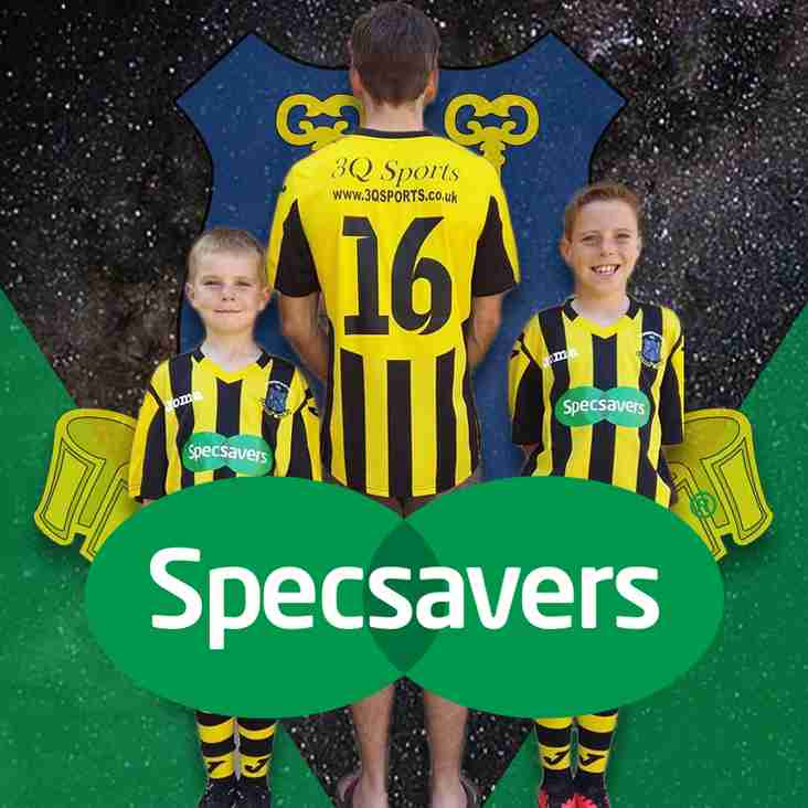 Specsavers  continue to Support Longstanton Colts FC