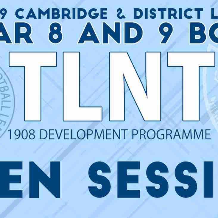 1908 TLNT Development Squads