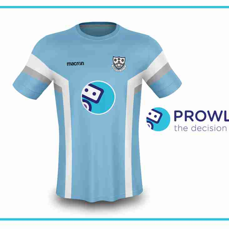 Prowler.io Sponsor Under 18 Away Kit