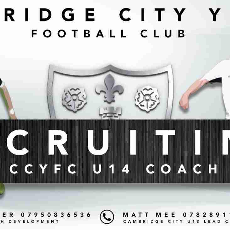RECRUITING | U14 Colts League Coach