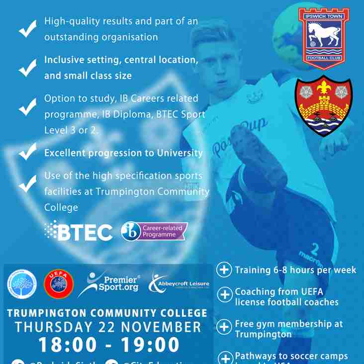 Education & Football Development Programme | REGISTER