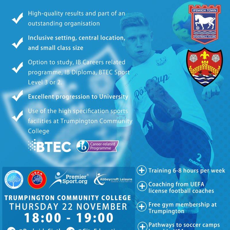 Education & Football Development Programme | REGISTER