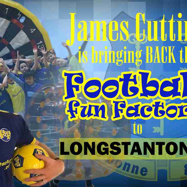 Football Fun Factory is COMING BACK
