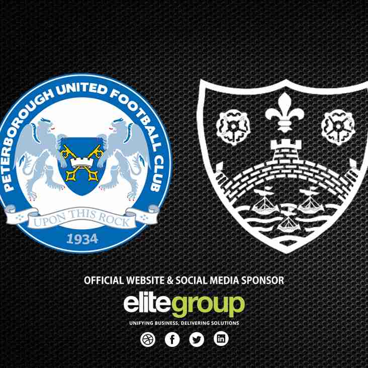 Under 13 scheduled to visit Peterborough United