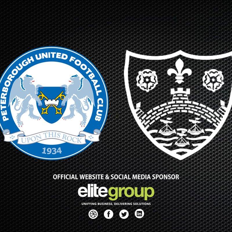 Under 13 scheduled to visit Peterborough United