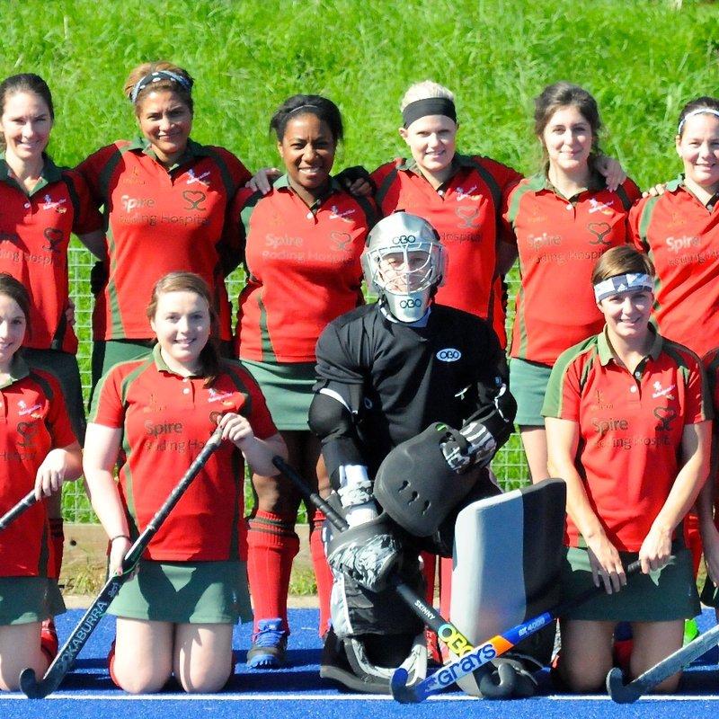 Ladies 1st XI beat Ashford 3 - 2