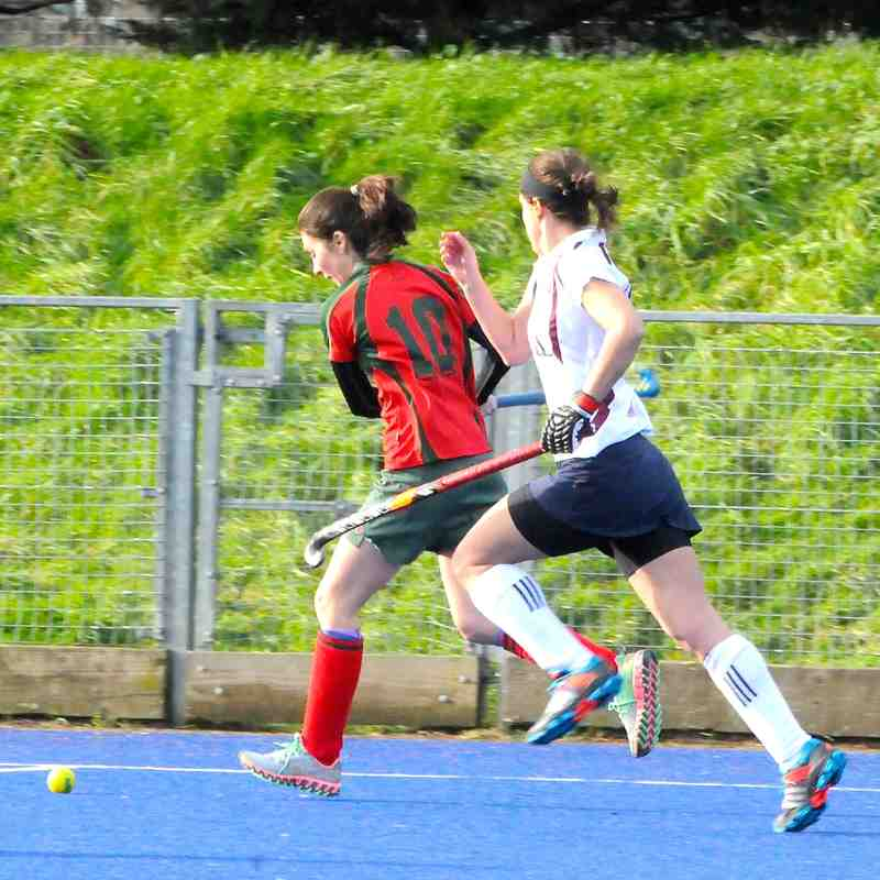 Ladies 1s v Wapping - 23.01.16