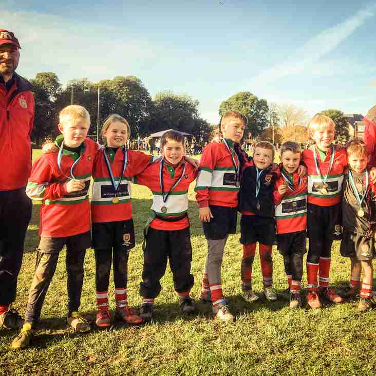 U8 Petersfield at Chichester Festival Team D Photo
