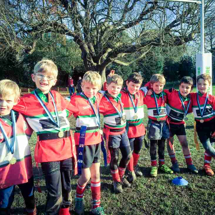 U8 Petersfield at Chichester Festival Team A Photo