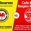 New Brighton Villa Reserves 2 v 2 Cefn Mawr Rangers Reserves