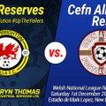 New Brighton Villa Reserves 0 v 5 Cefn Albion Reserves
