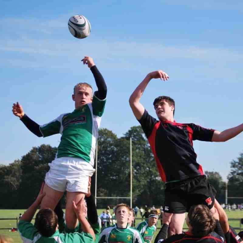 Horsham U16 vs Haywards Heath 07-10-2012