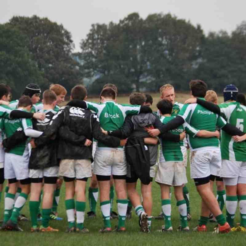 Horsham U16 vs Pulborough 21-10-2012
