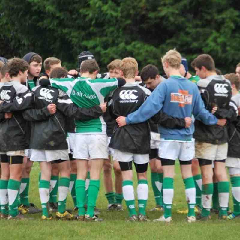 Horsham U16 vs Chipstead 28-10-2012