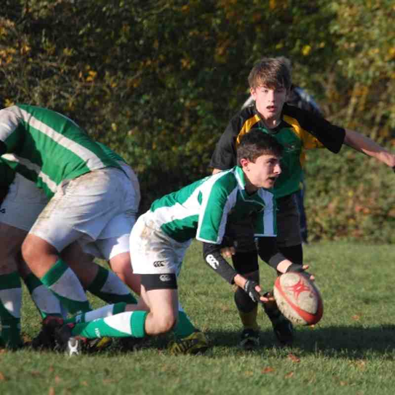 Horsham U16 vs Effingham 18-11-2012