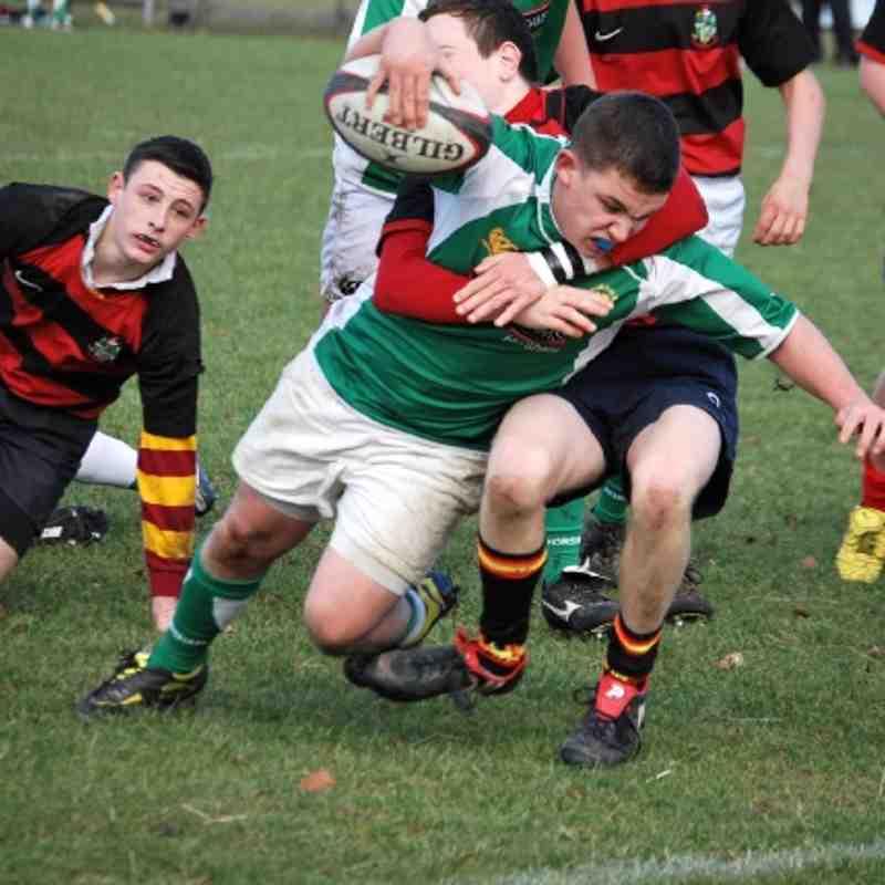 Horsham U16 vs Twickenham 09-12-2012