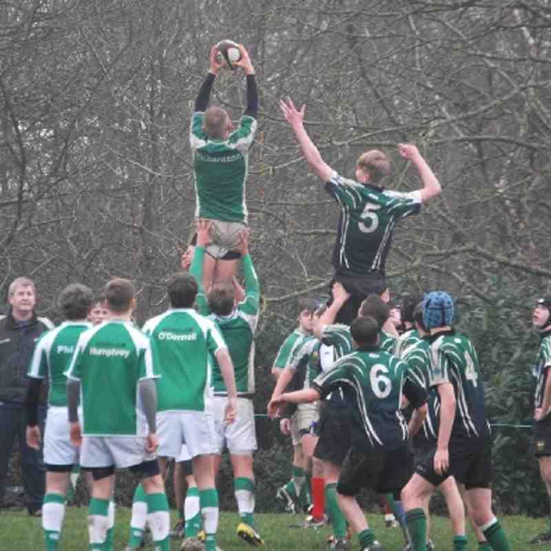 Horsham U16 vs Heathfield 06-01-2013