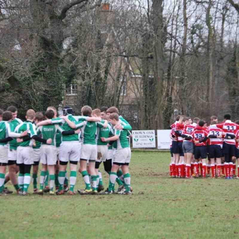 Horsham U16 vs Crowborough 03-02-2013