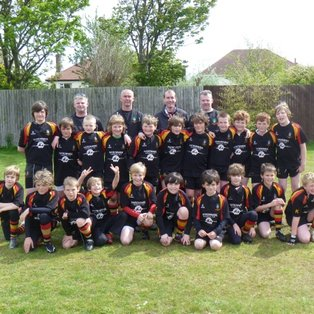 U11s Give No Quarter at Collegiate