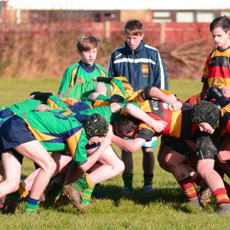 Under 14s v Fleetwood - 14th February 2016