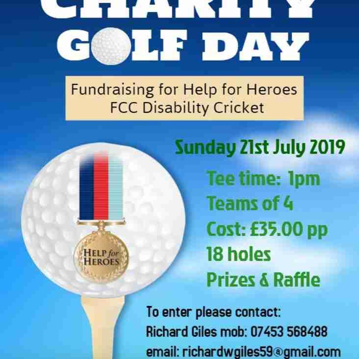 Falkland CC Charity Golf Day 2019 at Donnington Grove Golf Course