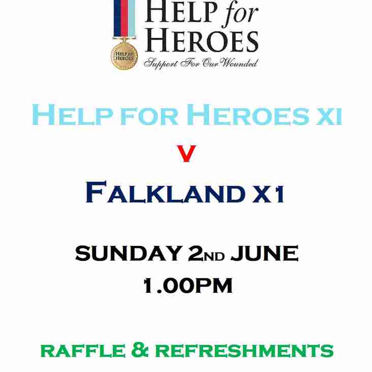 Help for Heroes  Charity Cricket