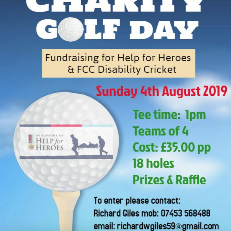 Falkland CC Charity Golf Day 2019 - new date announced!