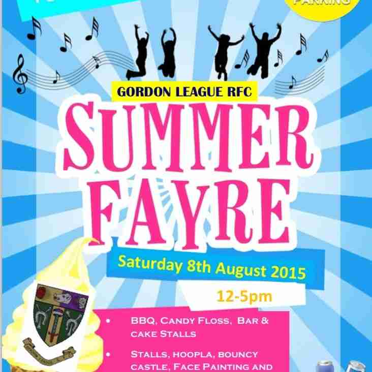 Gordon League Summer Fayre