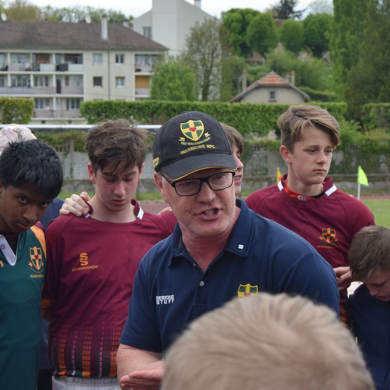 Old Wimbledonians RFC for All Ages: Chatting with the Chairman of the Warriors