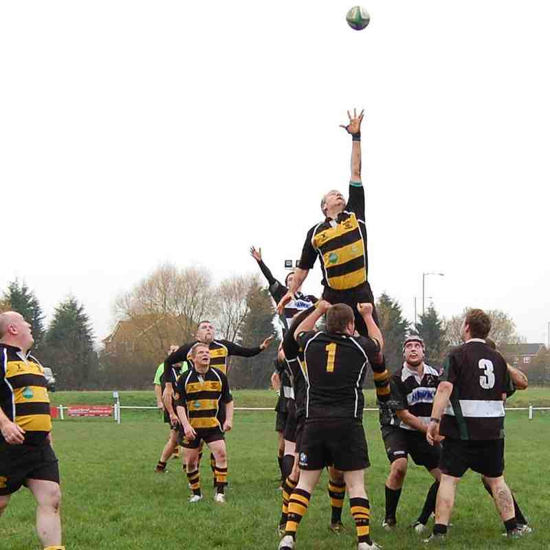 Vets vs Gnosall 29th November 2014