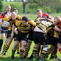 OLD SALTLEIANS 1st XV vs STAFFORD 1st XV. 22ND APRIL 2017. LEAGUE MATCH.