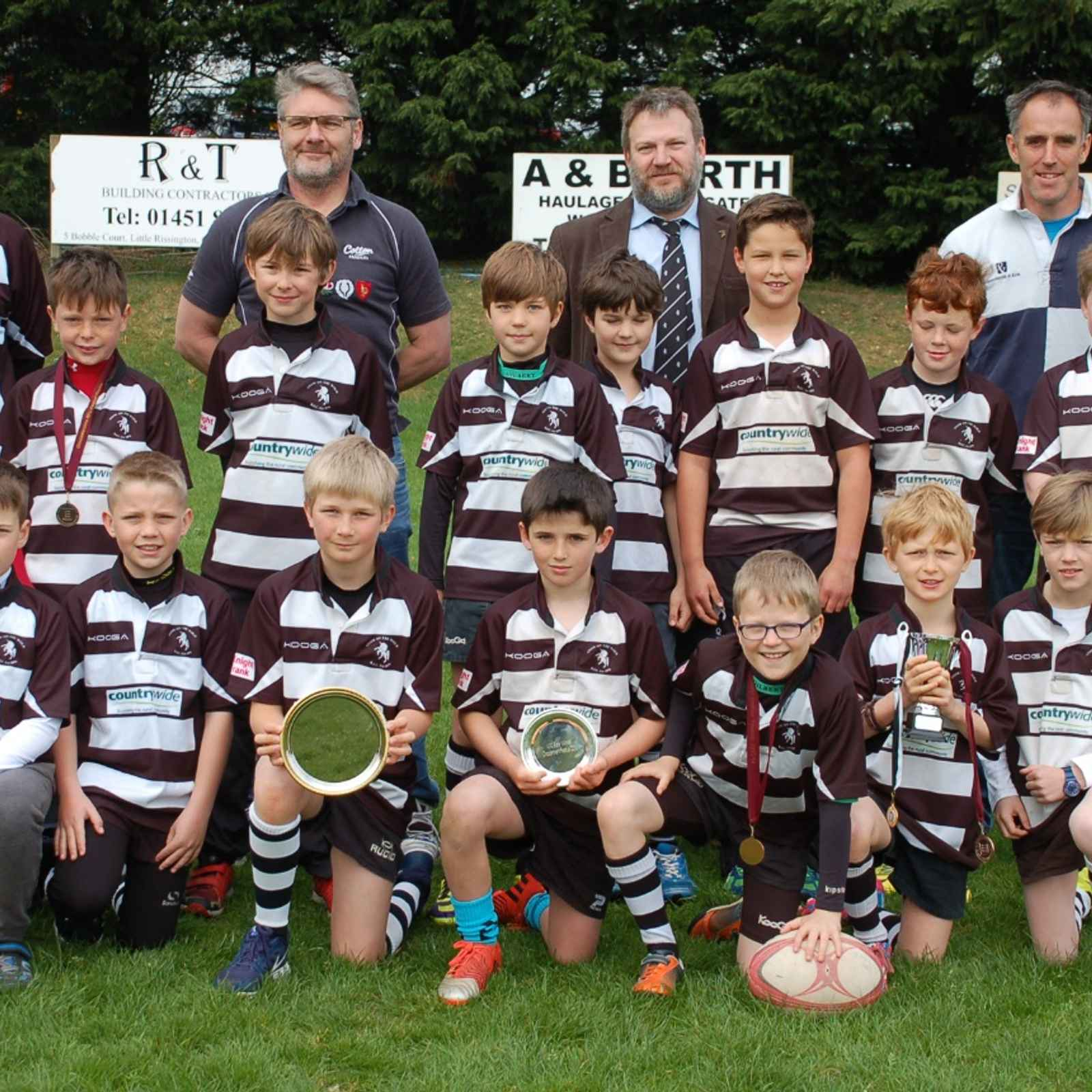 U11s v Claverdon RFC Friday 15th April evening 6.30pm KO
